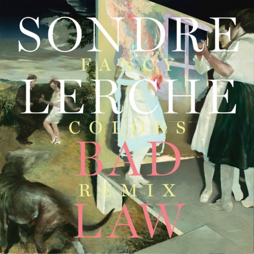 Cover of Bad Law - Fancy Colors remix